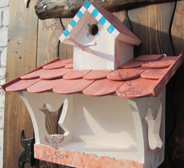 Кормушка для птиц Черепица заказать
