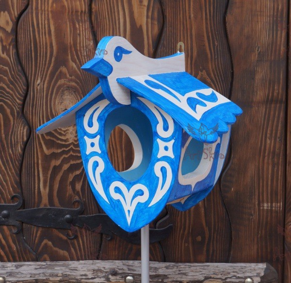 купить кормушку Синяя птица в Запорожье