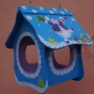 Купить кормушку для птиц Новогодняя