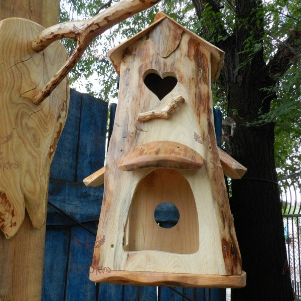 Скворечник_кормушка для птиц купить в Запорожье