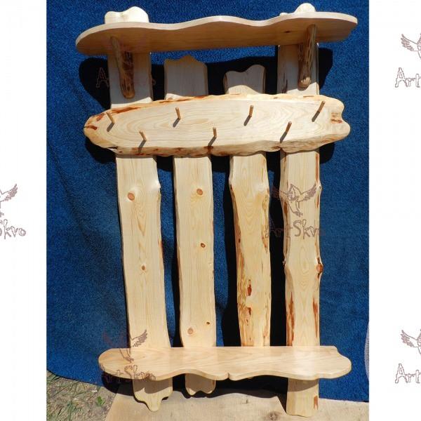 Купить деревянную вешалку для одежды